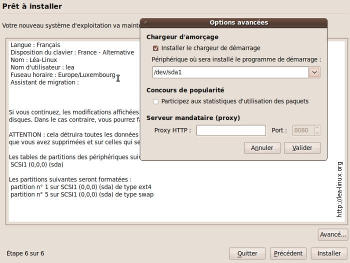 aucune option n'installe ubuntu à côté de Windows 8