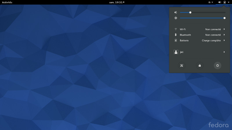 Installer Fedora 28 — Lea Linux